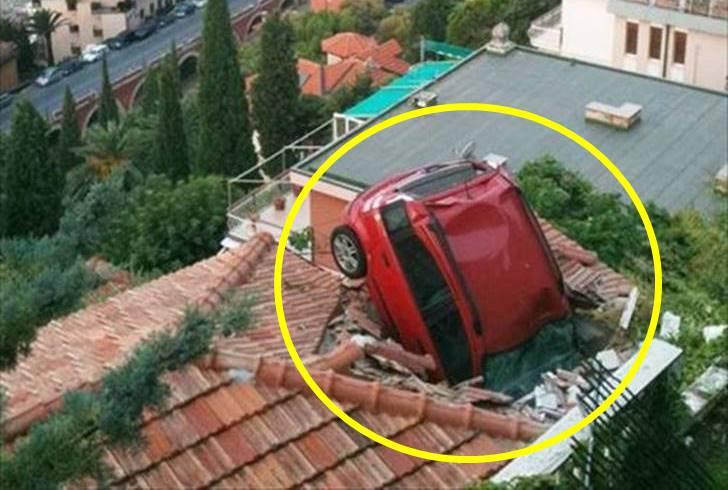 상식적으로 도저히 이해 안 되는 이상한 자동차 사고들