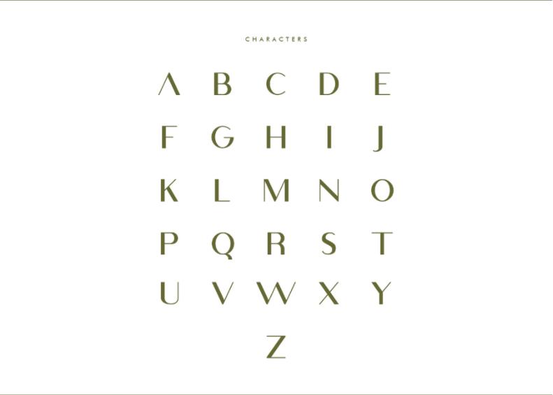 무료폰트 Free Viola Minimal Typeface