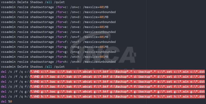 [그림4] 쉐도우 파일을 삭제하는 'window.bat'