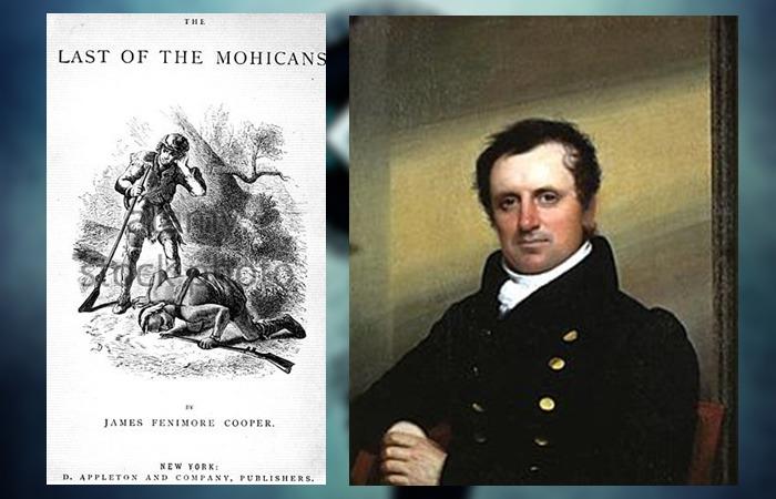 사진: 영화 라스트모히칸의 원작은 모히칸 족의 최후다. 원작 소설을 쓴 사람은 미국 초기의 소설가인 쿠퍼이다. 영화의 줄거리는 원작과 차이가 있다. [영화 라스트모히칸의 원작 소설]