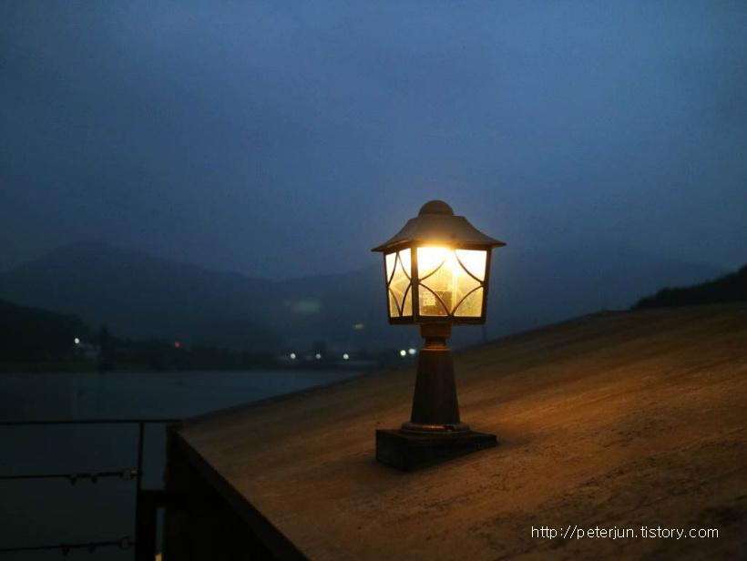 은은한 등불