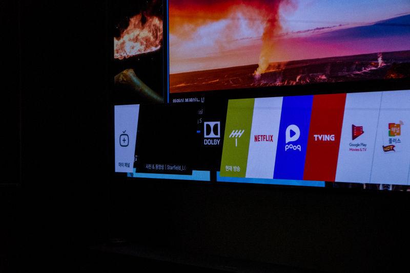 돌비 비전과 돌비 애트모스 적용된 LG OLED TV 만나보니..