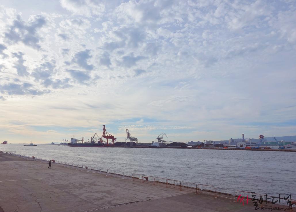 오사카 항구