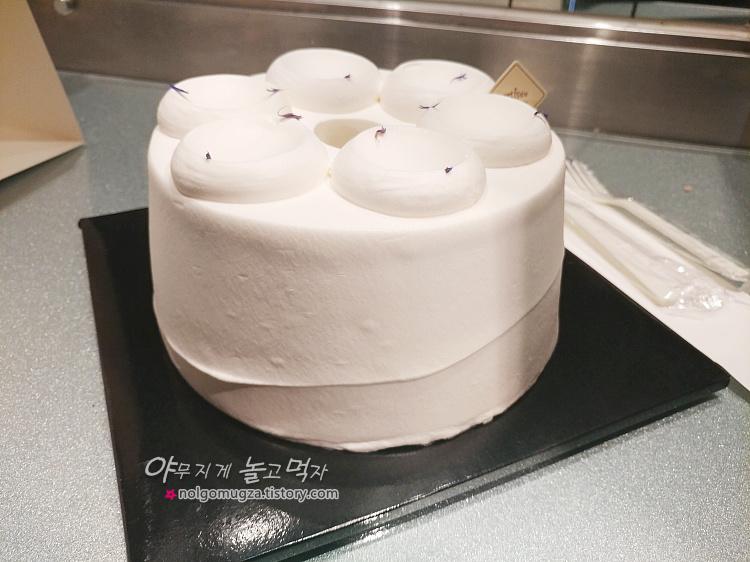 아티제 얼그레이 쉬폰 케이크 3