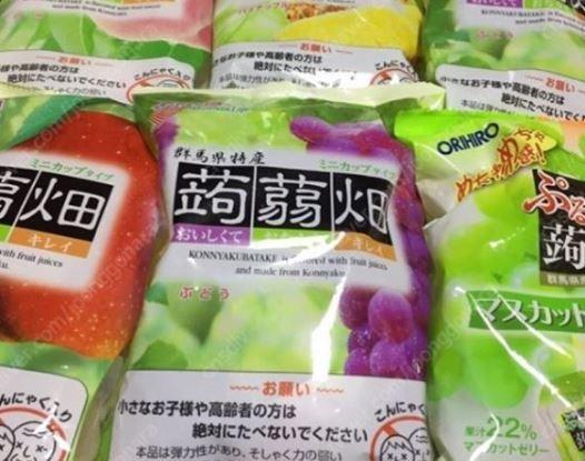 일본 곤약젤리