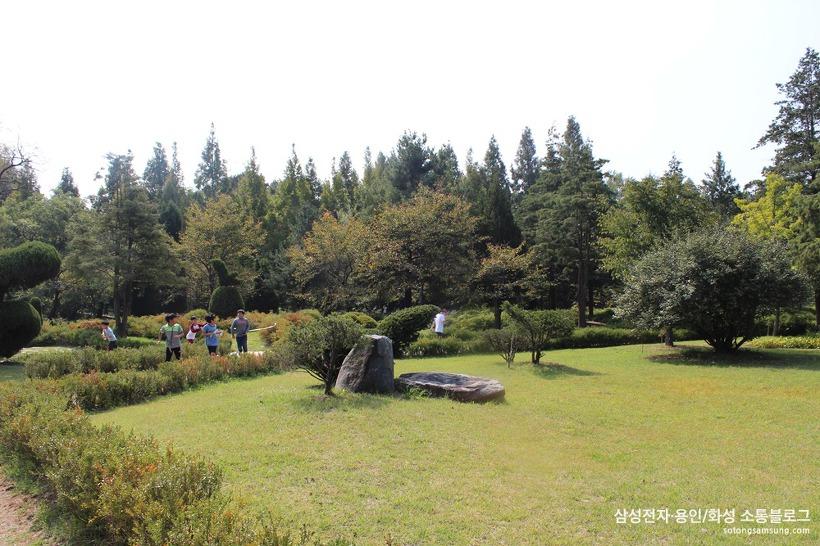 물향기수목원 미로원