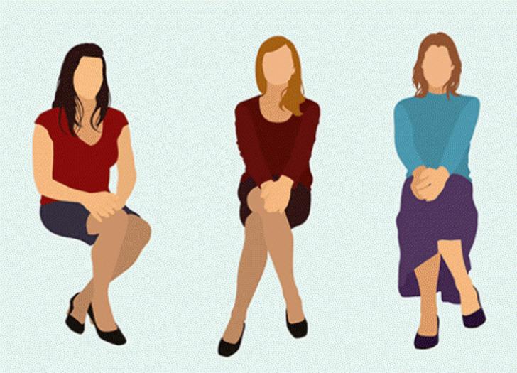 앉는 자세로 알아보는 성격 테스트 13가지