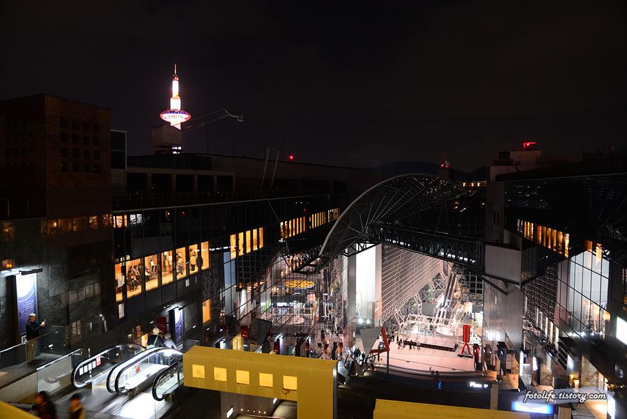 [일본/교토] 교토역 빌딩 20주년 기념 그래픽 일루미네이션