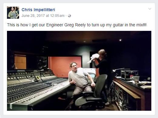 Chris Impellitteri Post