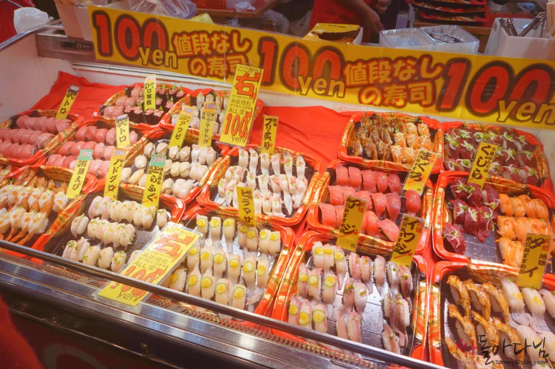 시모노세키 가라토시장