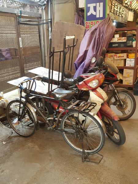 시장 자전거