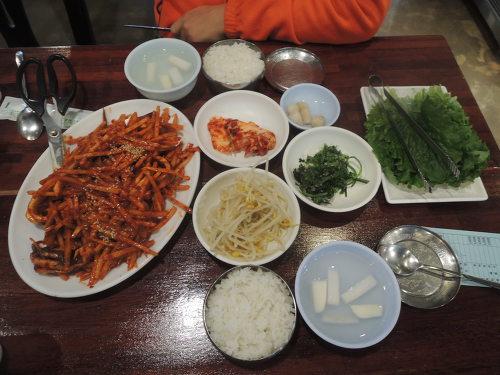 수요미식회 오징어 안양역맛집 동해오징어보쌈