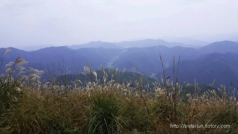 민둥산 멋진 풍경