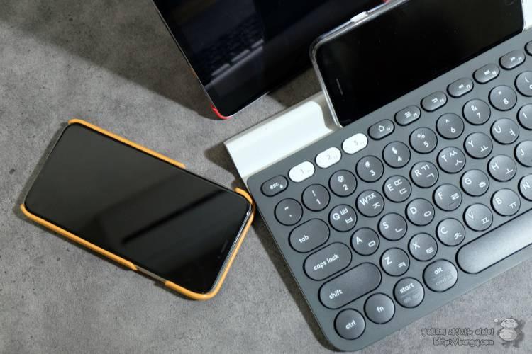 3대를 오가는 멀티 키보드, 로지텍 K780 블루투스 키보드의 장점들