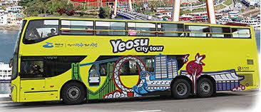 여수 시티투어버스 가격과 노선 이용안내