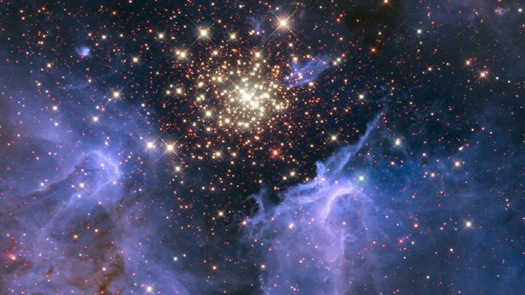 Star-Forming Nebula NGC 3603