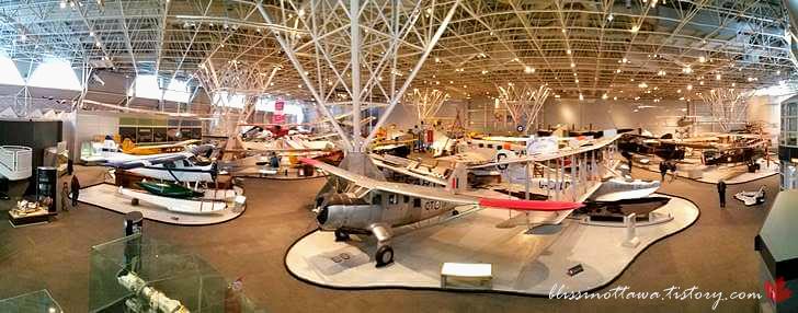 캐나다 항공 우주 박물관입니다