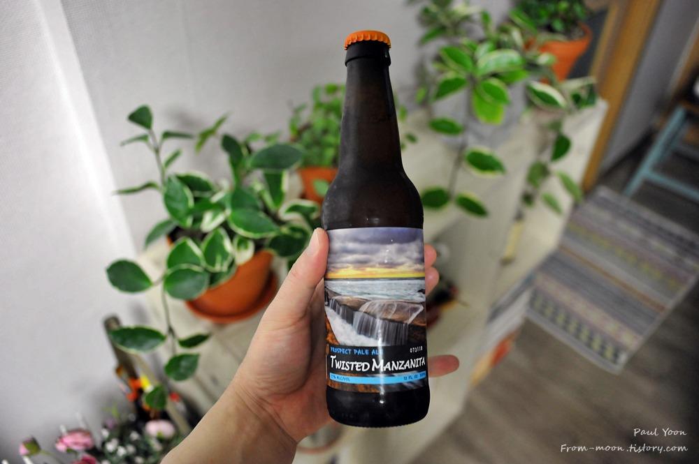 [미국 에일 맥주] 프로스펙트 페일 에일 (트위스티드 맨자니타 페일 에일 / Prospect Pale Ale Twisted Manzanita Beer / 병맥주 / 수입맥주 / 미국맥주)