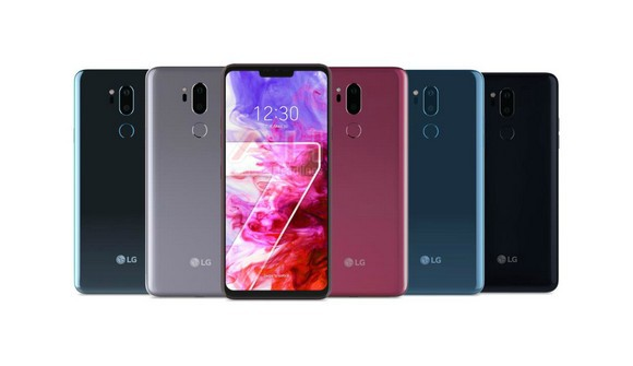 LG G7 씽큐(ThinQ) 색상 유출 이미지