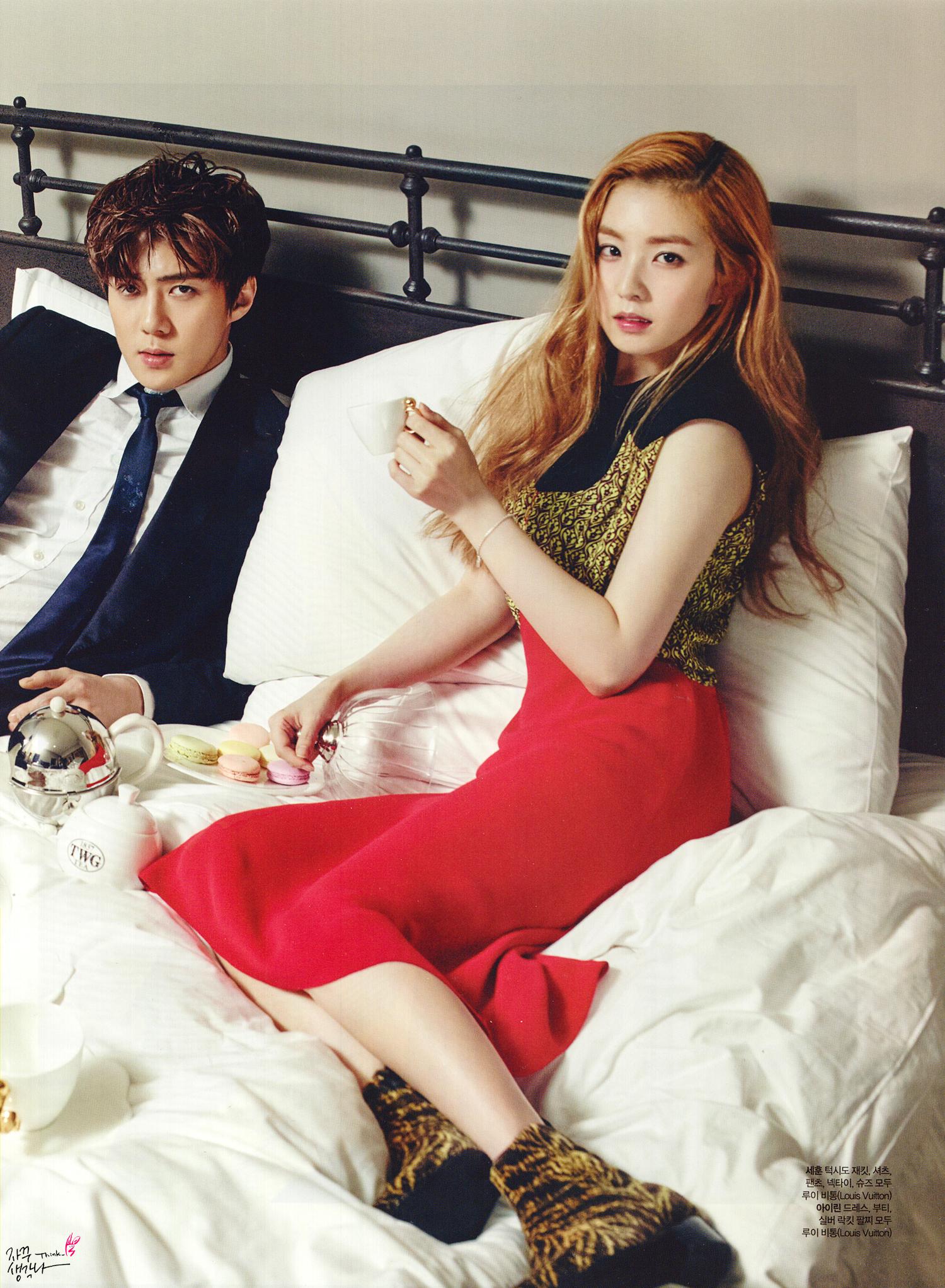 Red Velvet Irene And Exo Sehun Dating