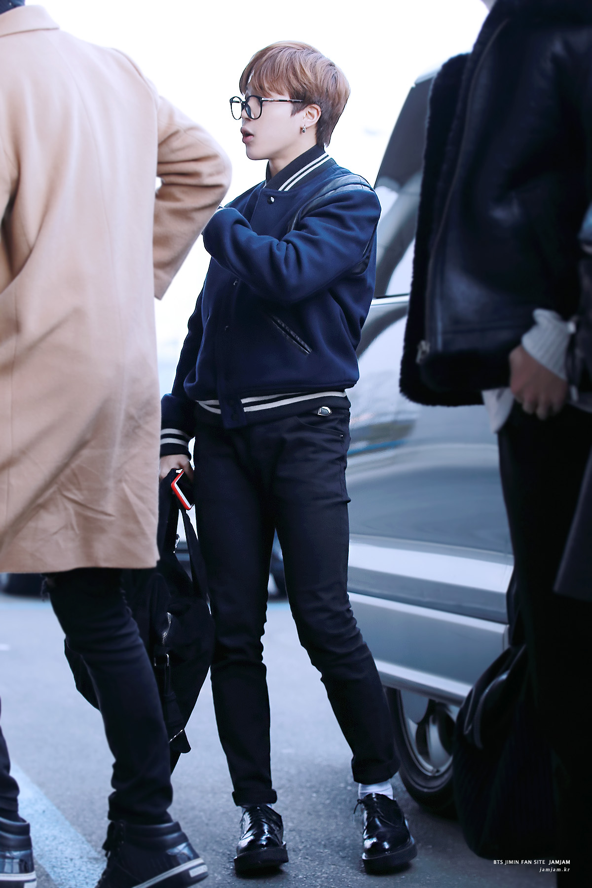 Picture Fansitesnap Bts At Gimpo Airport Heading To