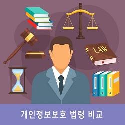 개인정보보호 법령 비교
